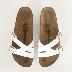 Birkenstock Yao Sandals 38 White